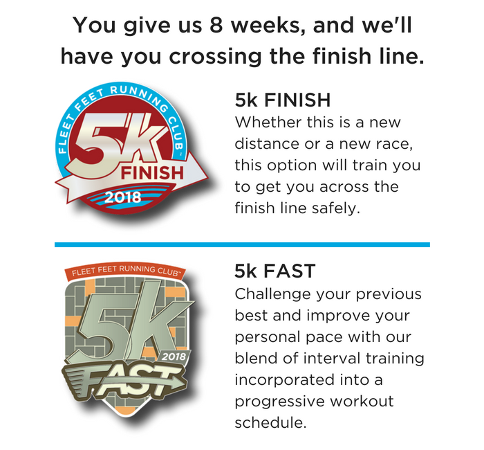 5k fast and finish